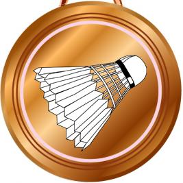 Brončana kviz medalja Icon